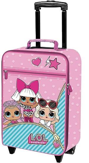 LOL Surprise B98400 Maleta para niños, Trolley de Cabina, 53 centímetros, 25 litros
