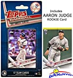 #10: New York Yankees 2017 Topps Baseball EXCLUSIVE Special Limited Edition 17 Card Complete Team Set with Derek Jeter,AARON JUDGE RC,Masahiro Tanaka,Gary Sanchez & More! Shipped in Bubble Mailer! WOWZZER