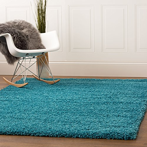 Turquoise 5 Feet 8 Feet Stain Resistant Non Shed product image