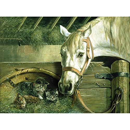 Reeves Paint by Number Artist's Collection, 12-Inch by 16-Inch, Horse and - Number Artist Paint By