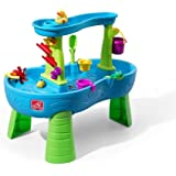 Step2 Rain Showers Splash Pond Water Table Playset (Large Pack - Includes Rain Showers Toy Set)