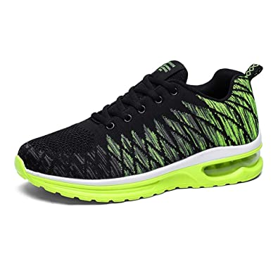 3c50b804aa9 Kivors Women and Men s Air Running Shoes Trainers Fitness Sneaker Sports  Jogging Shoes Shock Absorbing Size