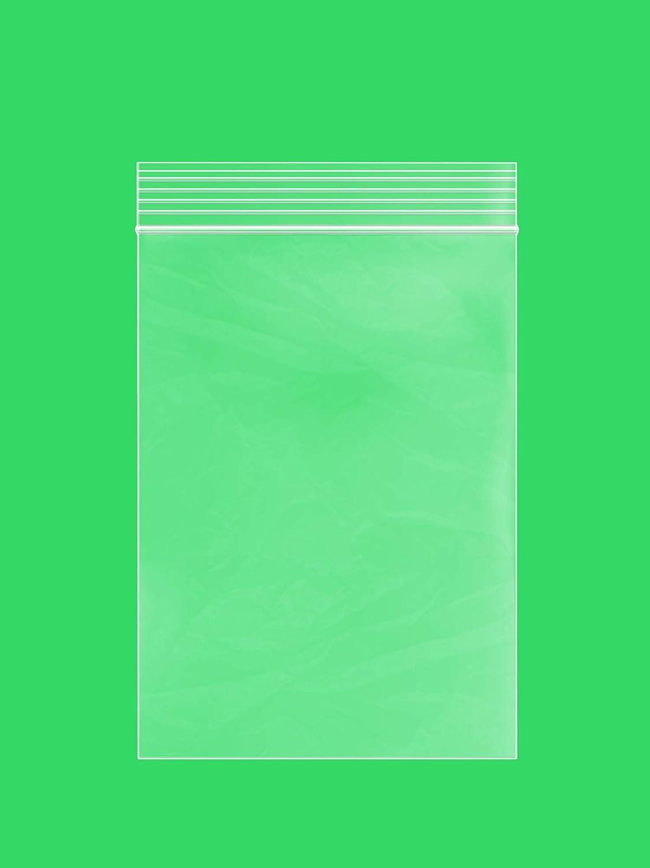 Clear Plastic RECLOSABLE Zip Bags - Bulk GPI Pack of 100 4