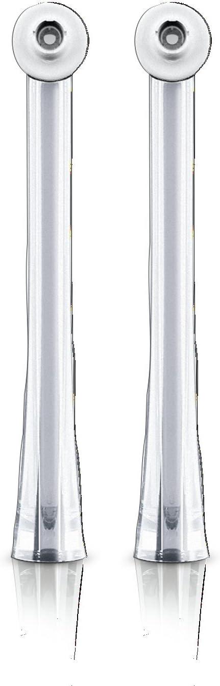 Philips HX8032/07 - Boquillas interdentales para Sonicare Airfloss Ultra HX8332, 2 unidades, color gris