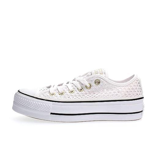 Converse, CTAS OX WhiteBlack 564873C, Zapatillas con