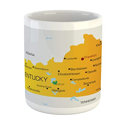Amazon.com: Lunarable Kentucky Mug, Kentucky State with City Names on kentucky state legislative map, kentucky state map detailed, tennessee virginia and north carolina map, kentucky state road map, kentucky physical map, kentucky state travel map, kentucky state home, pittsburgh political map, kentucky state climate, memphis political map, kentucky state symbols, kentucky state resource map, kentucky state city map, kentucky state outline map, kentucky state map key, kentucky state outline printables, missouri political map, kentucky state bird, alabama political map, kentucky state map with cities and rivers,