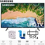"""Samsung 55NU7100 55"""" NU7100 Smart 4K UHD TV (2018) with Wall Mount+Cleaning Kit"""