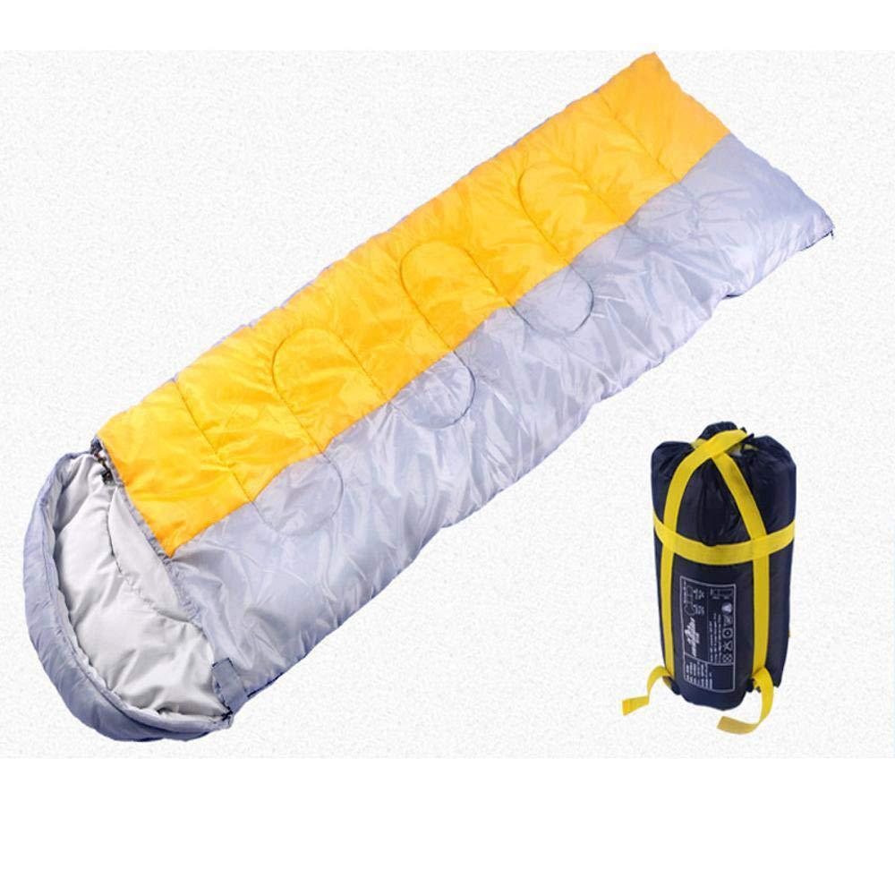 Sweety Bolsas de Dormir Bloque de Color al Aire Libre Camping Bolsa de Dormir Puede ser empalmada Humedad Impermeable Interior Camping para Dormir Bolsa 220 ...