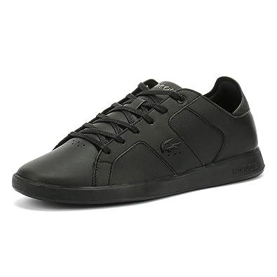 03c3a3d04f4 Lacoste Novas 119 4 Hommes Noir Basket  Amazon.fr  Chaussures et Sacs