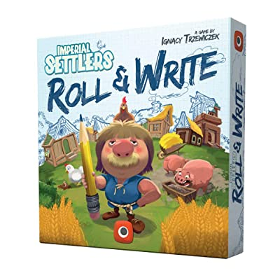 Portal Games Imperial Settlers Roll & Write Board Game: Toys & Games