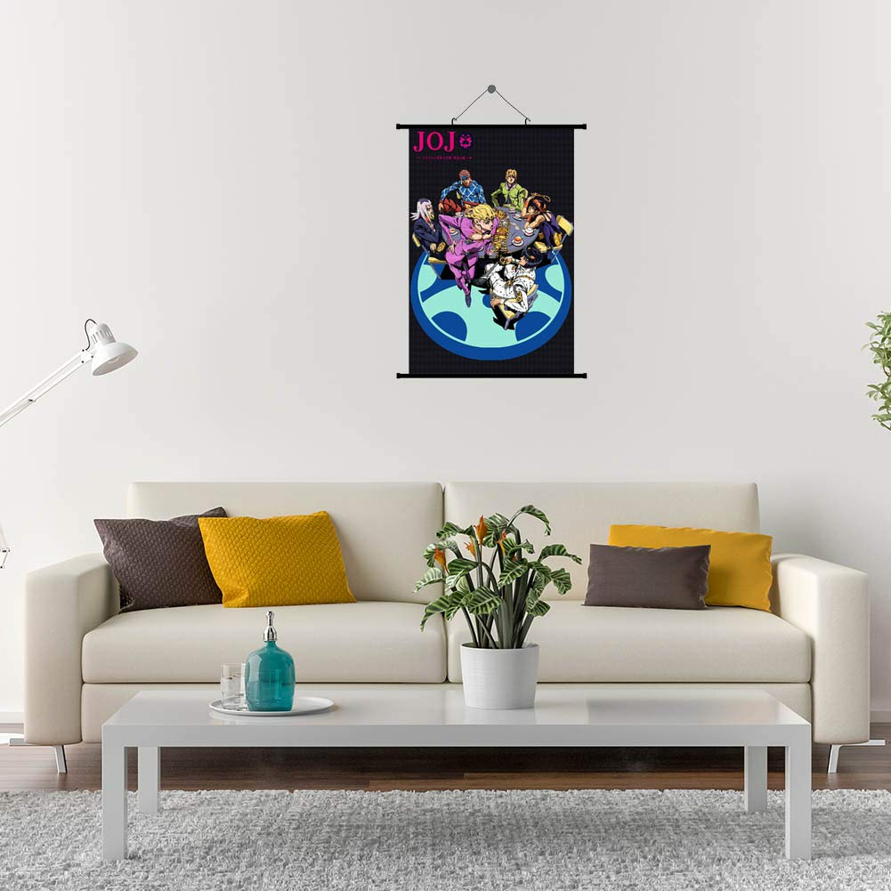 20x30cm H02 redCherry Anime JoJos Bizarre Adventure Poster Mur D/éfilement Suspendu Peintures Art Peinture Mur D/éfilement Affiche