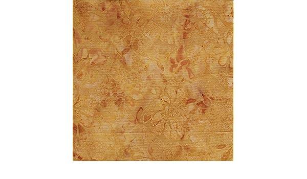 Island Batik Sweet Georgia Peach Batik Quilt Fabric Style 12150//7274 Beige
