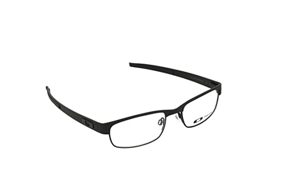 97c43c872a Amazon.com  Oakley Metal Plate (53) Eyeglass Frames - Matte Black  Shoes