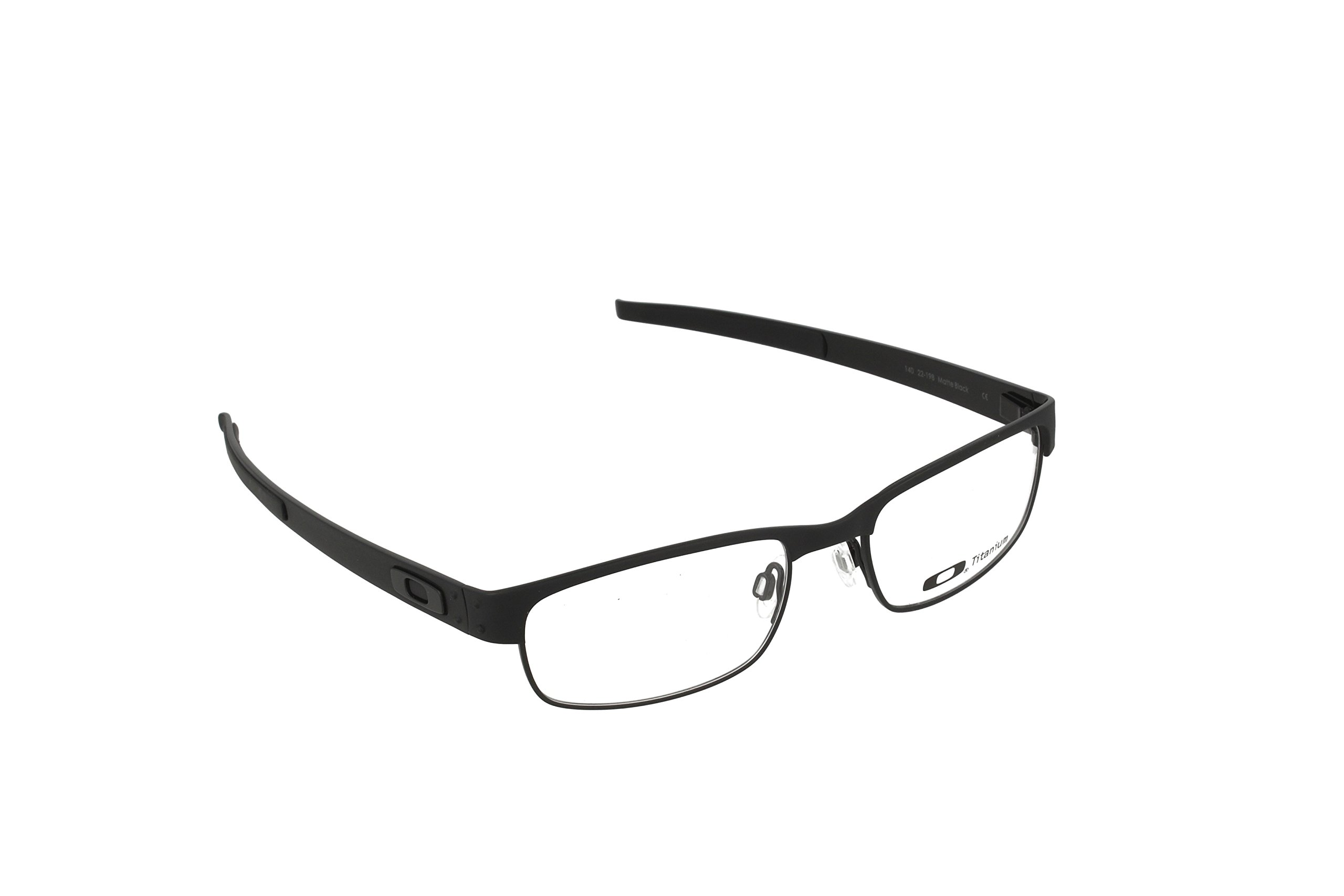 Oakley Metal Plate (53) Eyeglass Frames - Matte Black by Oakley