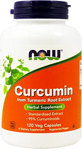 Now Foods, 2 Pack Curcumin, 120 Veg Capsules