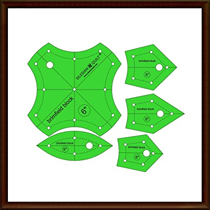 Pattern for Patchwork Silesian Star