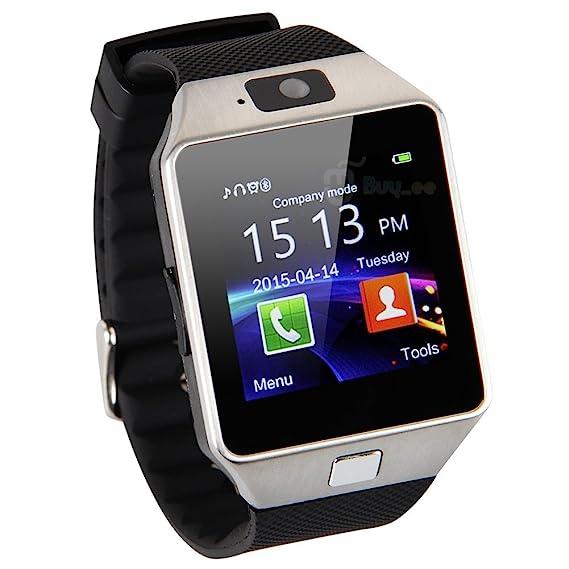 NOKKOO Smart Watch UDZ09 Smart Barcelet Wrist Band Wristwatch Smartwatch with Pedometer Anti-lost Camera