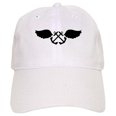 5b394a1122f4e5 Amazon.com: CafePress Aviation Boatswains Mate Baseball Baseball Cap with  Adjustable Closure, Unique Printed Baseball Hat Khaki: Clothing