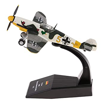 Me-109 Piston Helicopter 1//72 Diecast Airplane Aircraft Model Toy Alloy Bf-109