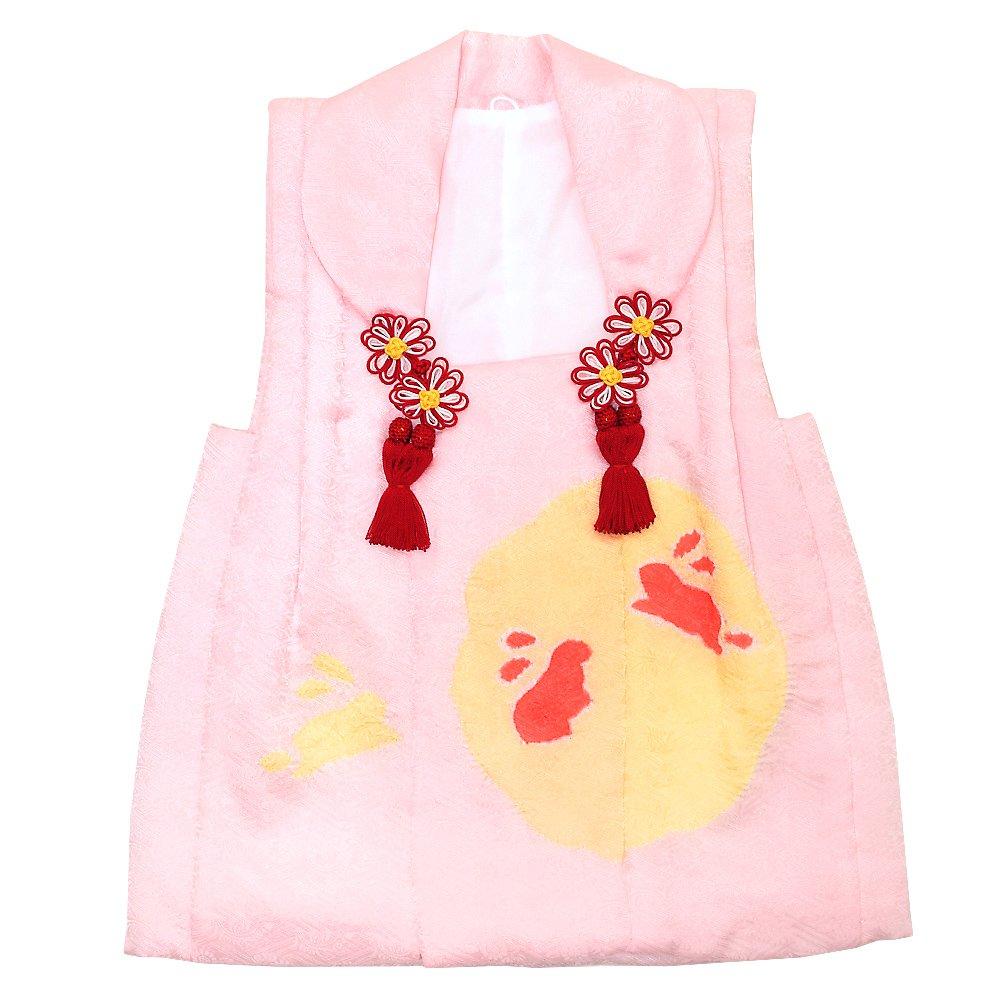 【2019 新作】 [KIMONOMACHI] 女児 [KIMONOMACHI] 女児 被布コート単品「薄ピンク色 B07CRFHH1B うさぎ」3歳児用 お子様被布コート B07CRFHH1B, カシワムラ:8ef17c79 --- a0267596.xsph.ru
