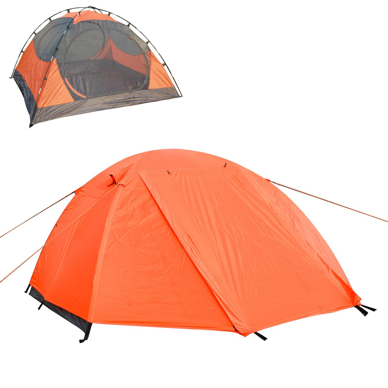 LETHMIK Portable Outdoor Backpacking Tent,2-3 Person Ultralight Waterproof Easy Set Up Family Tent with Carrying Bag