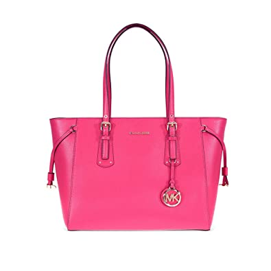 Borsa shopping Michael Kors Voyager in pelle ultra pink  Amazon.co ... b68252bbae