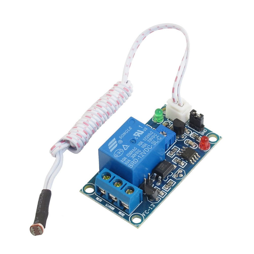 Solu Dc 12v Light Sensor Switch Photosensitive Resistance Relay 3v Lamp Brightness Controller Circuit Diagram Module With Cable Stable Car Led Headlight Automatic Control