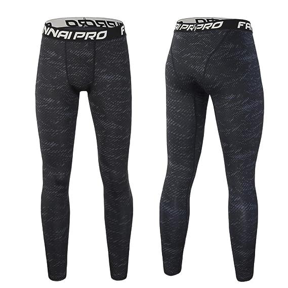 ❤️Hombres Pantalones Hombre, Moda, Entrenamiento, Polainas Fitness Sports Gym Running Yoga Pantalones