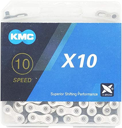 KMC X11.93 11-SPEED 116 LINKS BLACK//SILVER MTB-ROAD BIKE BICYCLE CHAIN