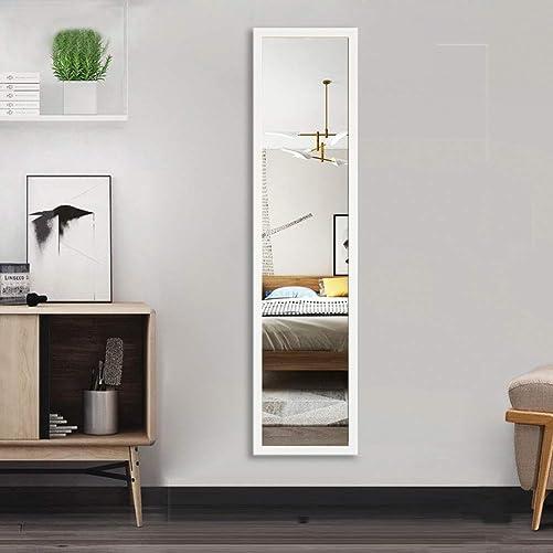 Beauty4U Full Length Wall Mirror Float Tile Dressing Mirror Body Mirror Door Mirror