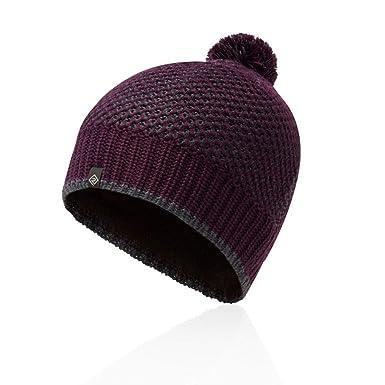 5ac973e8b1b Ronhill Bobble Hat - AW18 - One Purple  Amazon.co.uk  Clothing