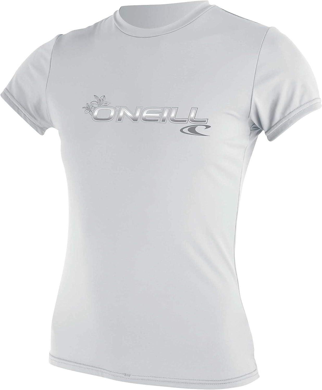 Short Sleeve Sun Shirt ONeill  Womens Basic Skins Upf 50