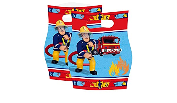 Sam El Bombero - Fireman Sam - Fiesta de Cumpleaños Bolsas ...