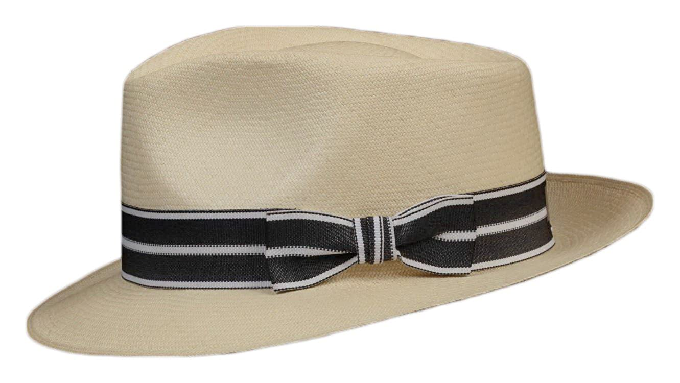 Three Pleat Satin Hat Band Replacement BRUNO CAPELO  Fashion Colors NEW