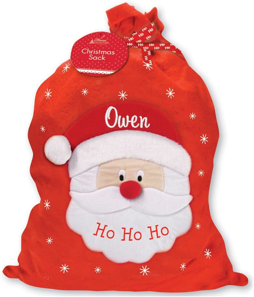 75 x 49 cm Personalised Custom Santa Christmas Xmas Sack Bag Extra Large XL
