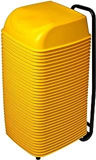 product image for Koala Kare KB424-07 36 Cinema Seats w/Rolling Cart - Yellow