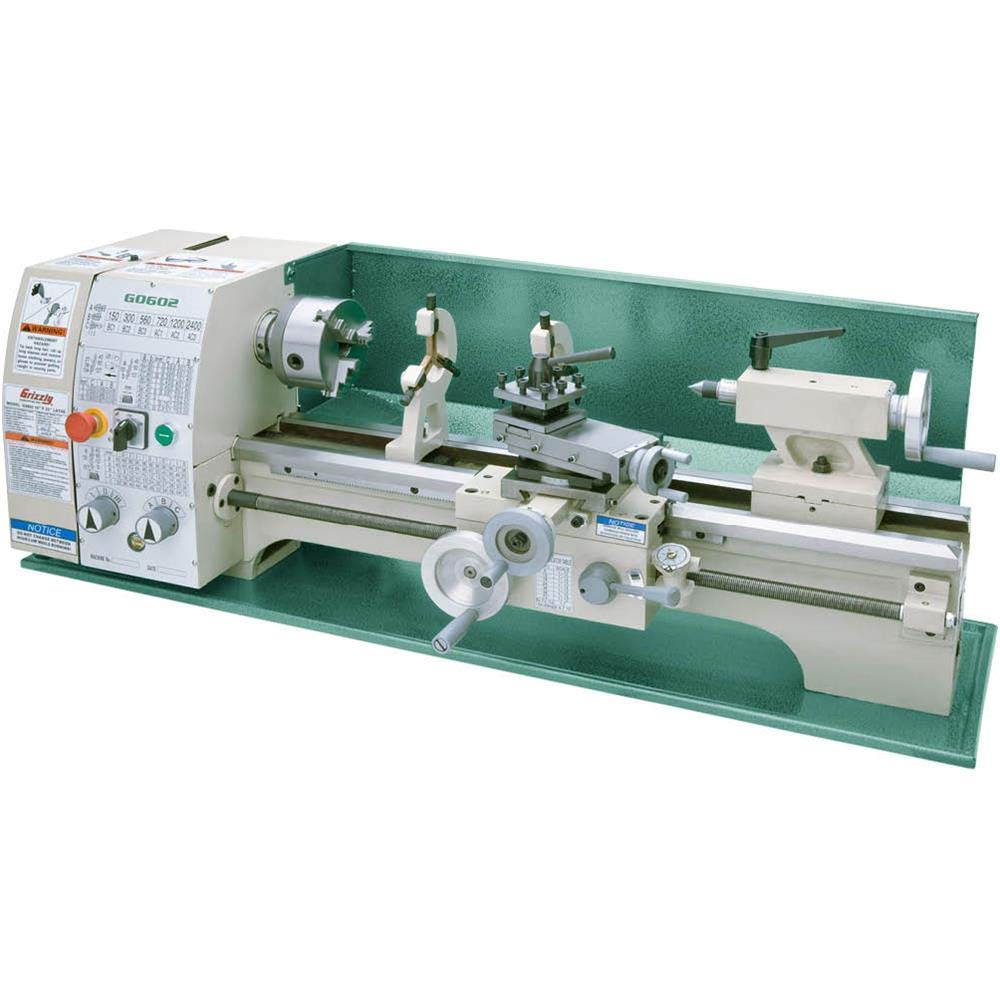 """Grizzly Industrial G0602-10"""" x 22"""" Benchtop Metal Lathe 61iqNBNwhWL._SL1000_"""
