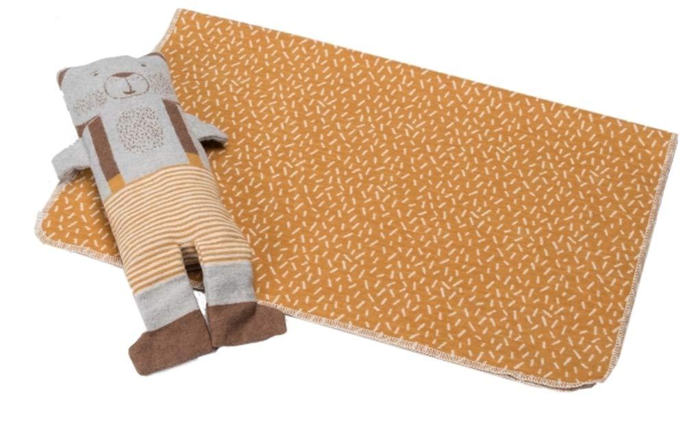 Decke Juwel in Puppe, Bär, 70x90 cm