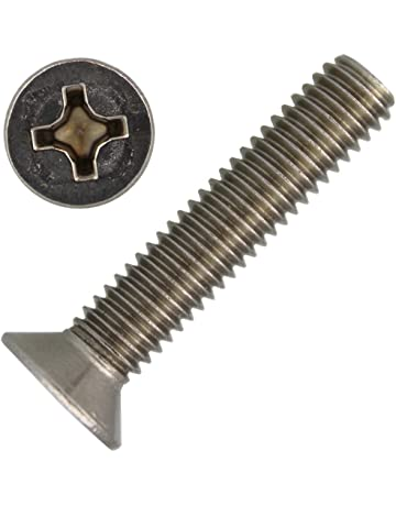 ZINCATO M 3-M 5 Viti SVASATE con esagono interno ISO 10642 08.8 acciaio GALV