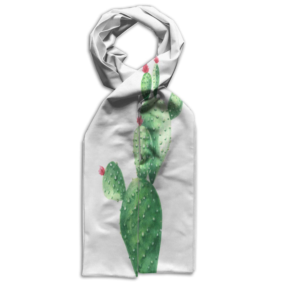 Kids Scarf Cartoon Christmas Trees Scarves Winter Warm Shawl Wrap For Teen