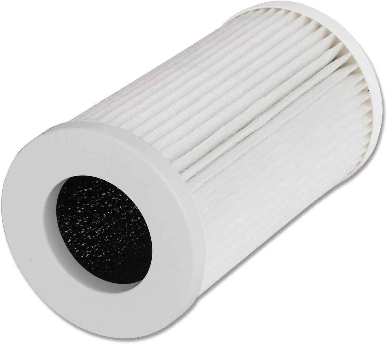 QUEENTY Filtro de Reemplazo de Purificador de Aire con Filtro HEPA ...
