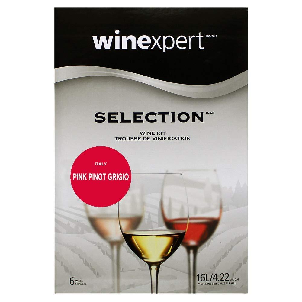 Pink Pinot Grigio Italy (Selection International) Wine Ingredient Kit by Winexpert (Image #4)