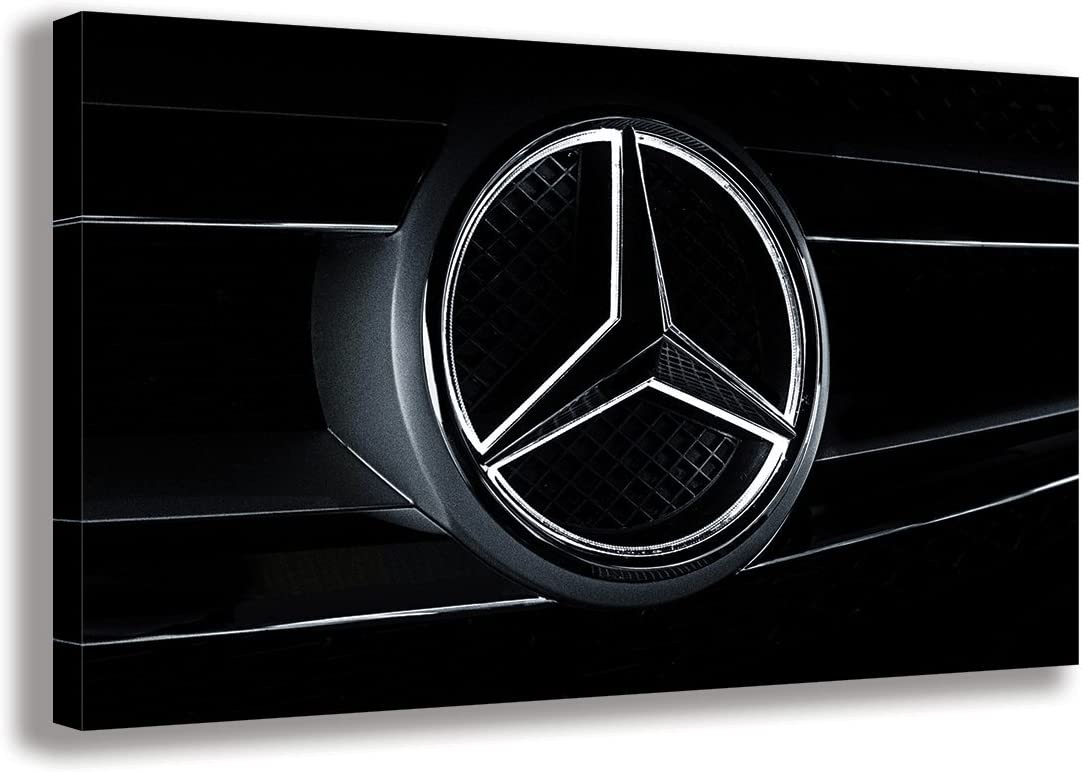 Mercedes AMG Poster Wall Art Print Black /& White Card or Canvas
