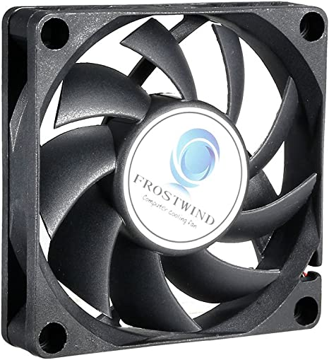 70mm Case Fan High Speed CPU Cooler 70 mm PWM Cooling Fan w 4-Pin Connector