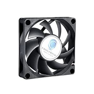 uxcell 70mm CPU Fan High Speed CPU Cooler 70 mm PWM Computer Cooling Fan with 4-Pin Connector