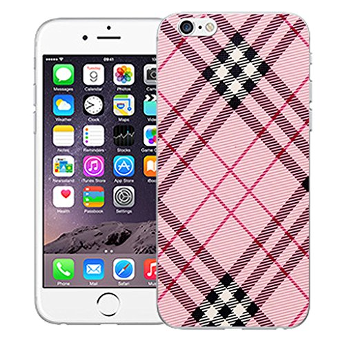 """Mobile Case Mate iPhone 6 4.7"""" Silicone Coque couverture case cover Pare-chocs + STYLET - Pink Oblique pattern (SILICON)"""