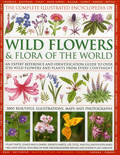 The Complete Illustrated Encyclopedia of Wild Flowers and Flora of the World: An Expert Reference And Identification Guide To Over 1730 Wild Flowers ... Beautiful Watercolours, Maps And - Map Tempe Marketplace Of