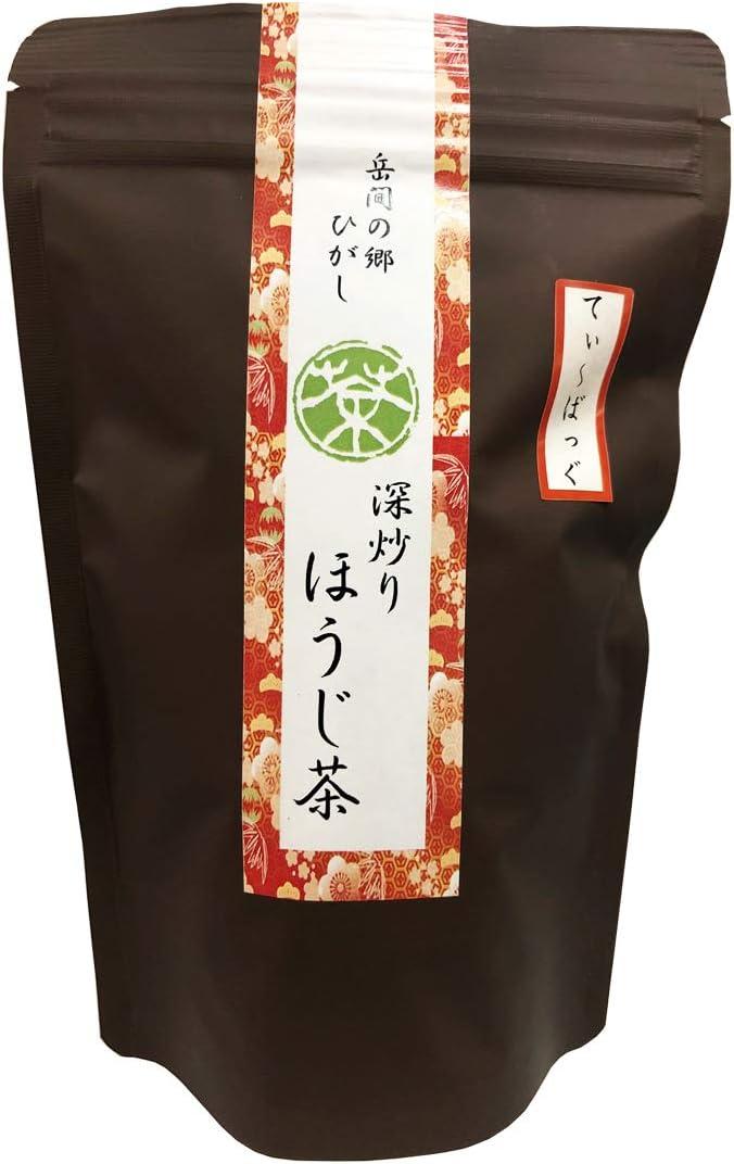 岳間の郷ひがし 深炒りほうじ茶ティーバッグ22包 熊本県岳間茶