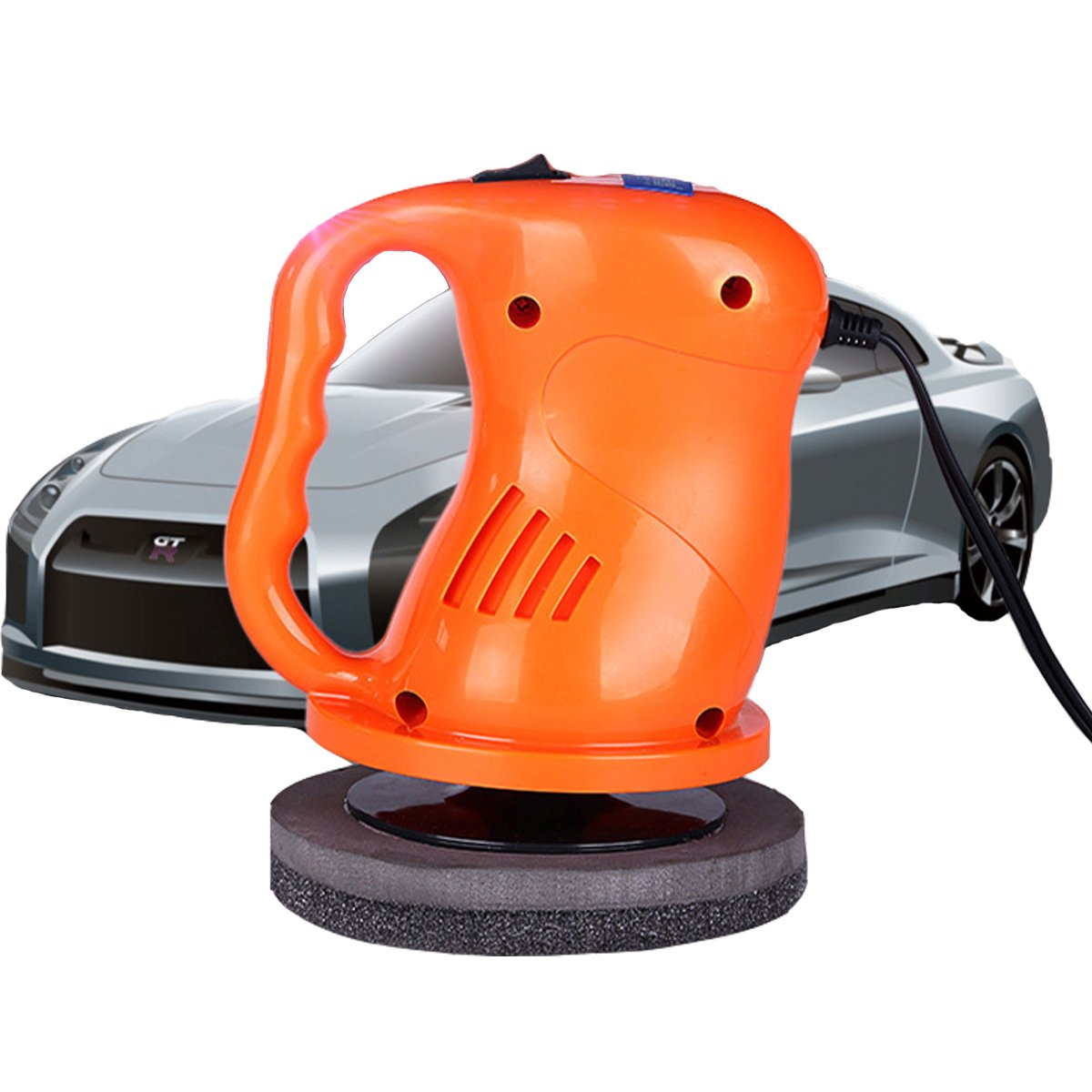 AUTOPDR Car Polishers and Buffers 12V 40W Car Waxing Waxer/Polisher Machine Car Gloss For Car Paint Vehienlar Electric