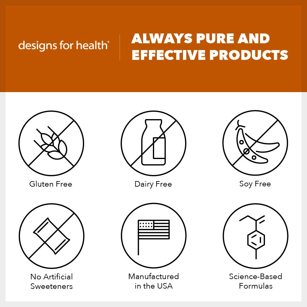 Designs for Health MochaNRG DF - Vegan-Friendly Rice Protein Fiber Bars in Mocha with 8 Net Carbs + 12 Grams Protein, Dairy-Free Energy Support Bar with Carnitine + CoQ10 (12 Bars) by designs for health (Image #3)